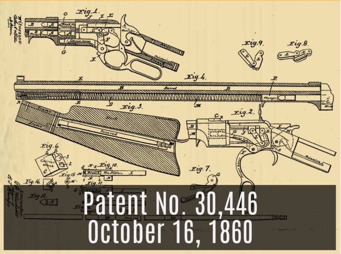 The First Practical Lever Action Repeating Rifle