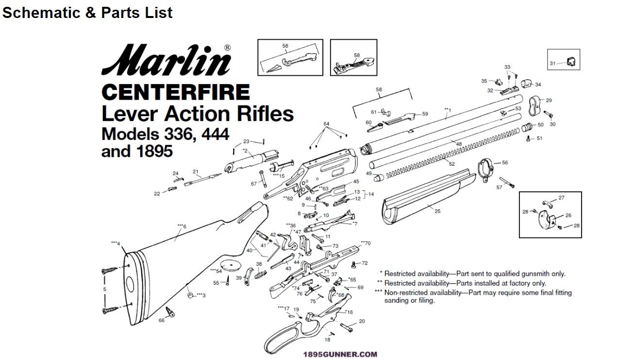 Marlin 336 Schematic