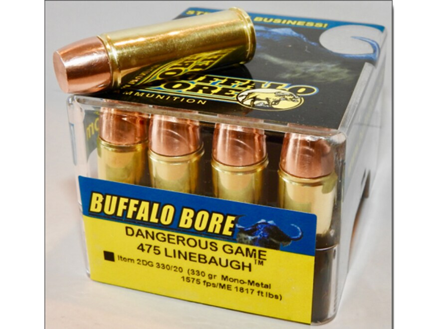 Some expensive .475 Linebaugh cartridges