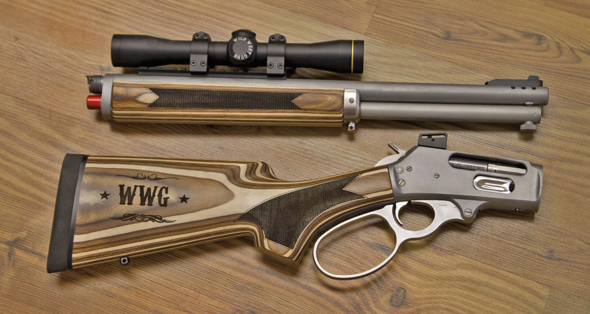 The Wild West Guns Co Pilot Takedown with 18.5