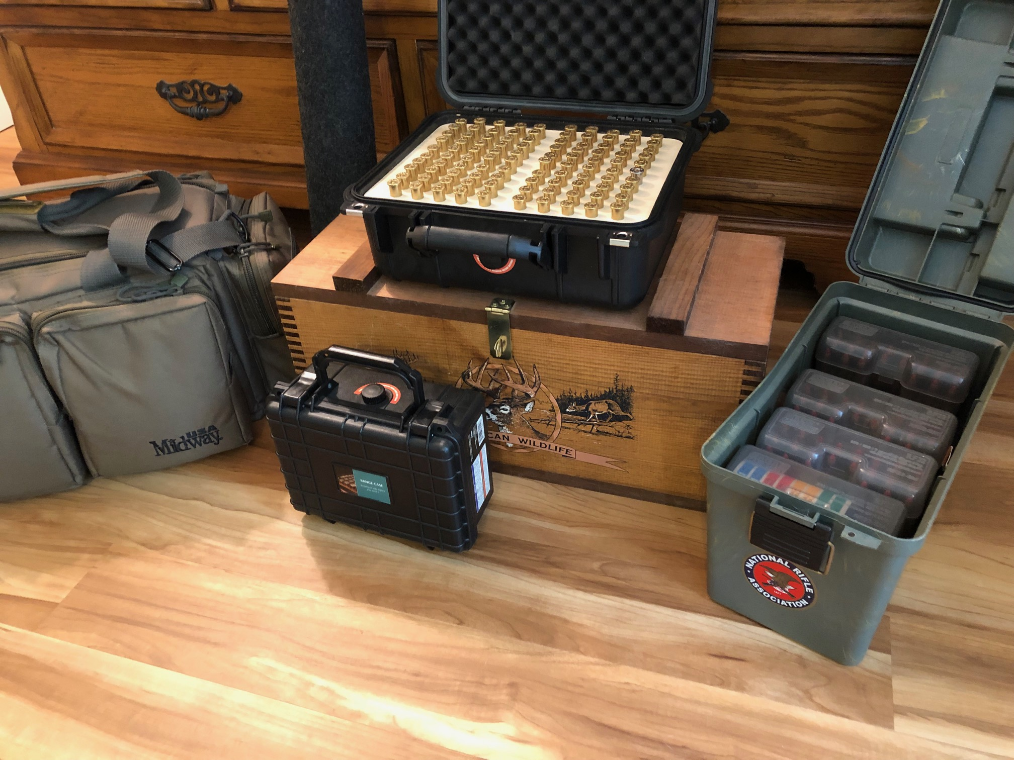 A group pic of Range Gear the Author uses