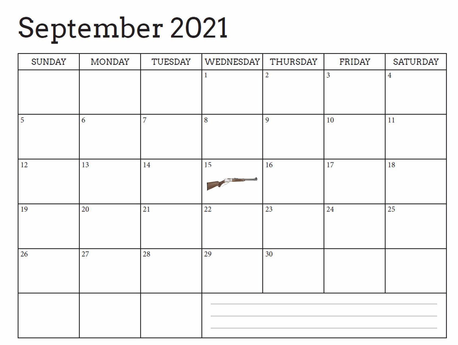 September Release?