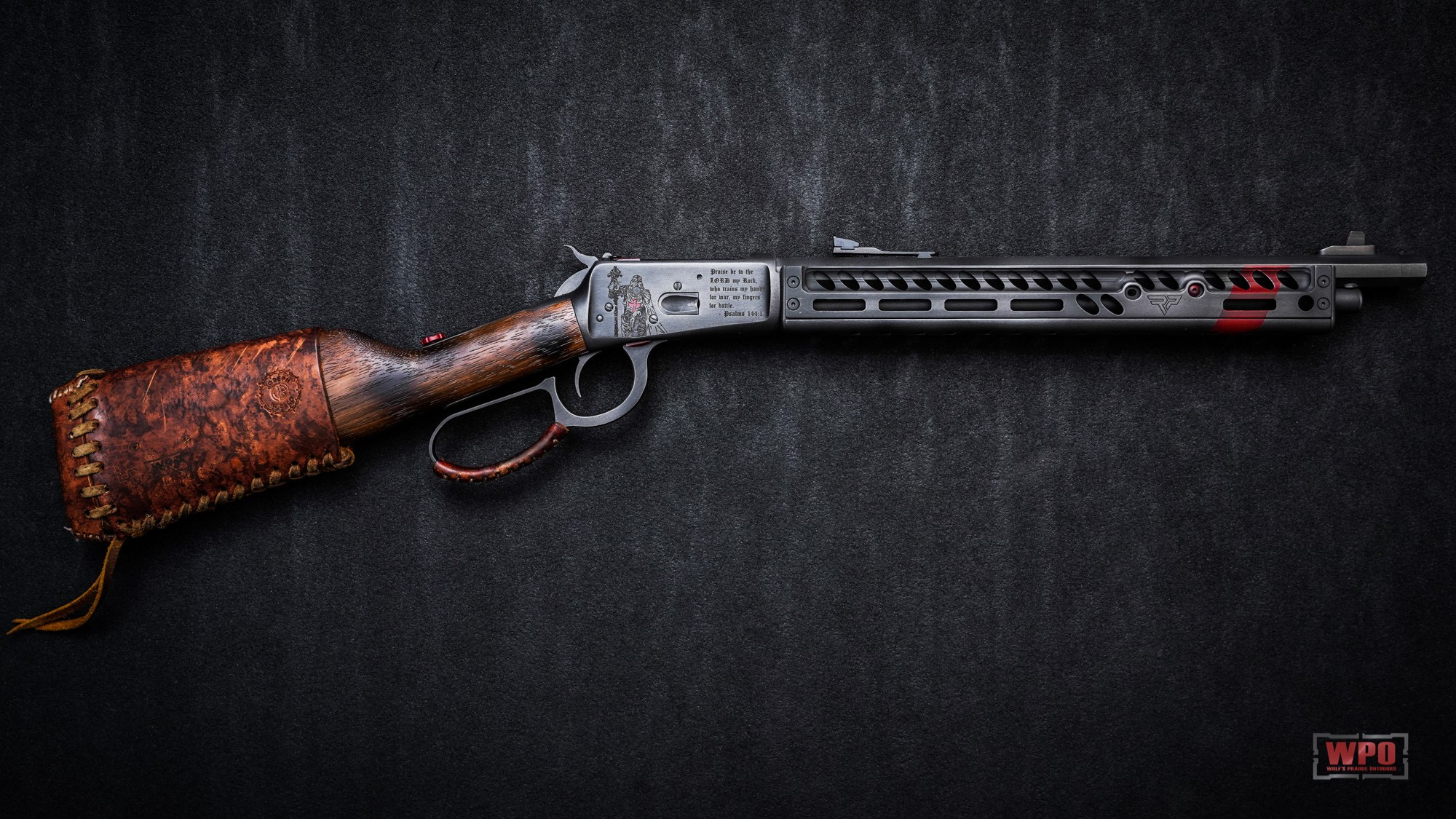 Some work done by Louthan Gunworks on a Rossi 44mag
