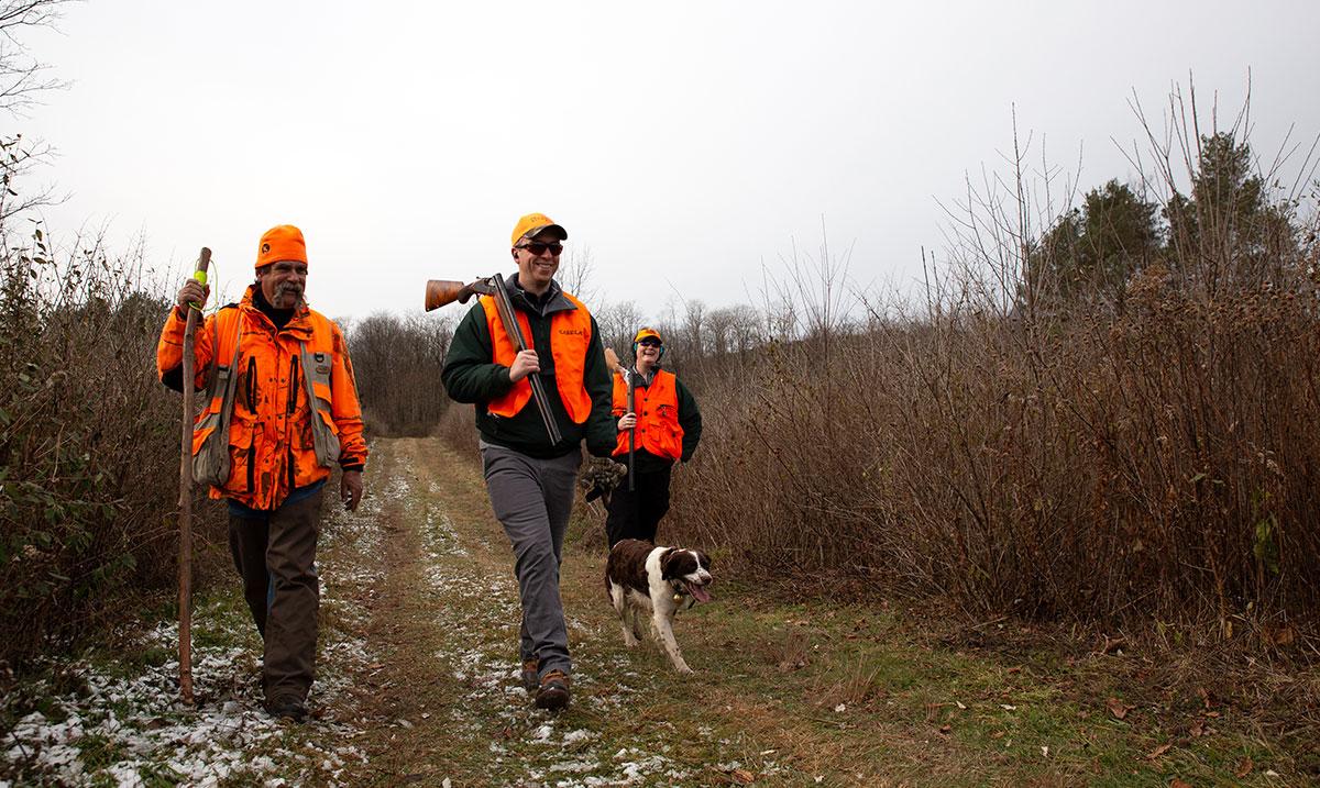Home Tour: Mentored Bird Hunt